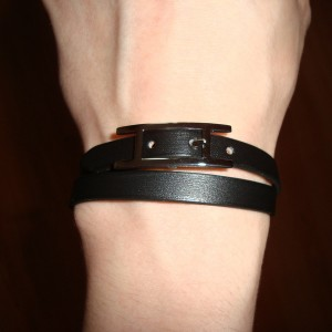 Hermes Behapi Double Tour Bracelet