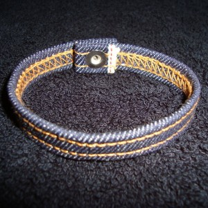 Selvedge Denim Bracelet