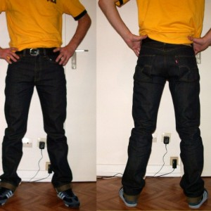 Levi's 501 1947 Raw Limited Edition