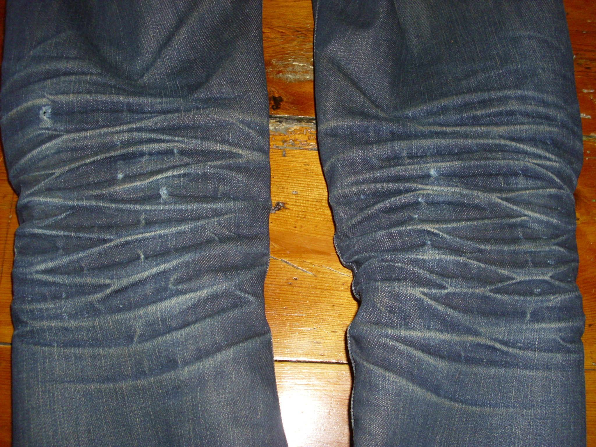 GTDO - 8 months' wear.  Do these holes have a special name?